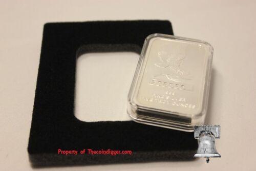 Air-tite Direct Fit Capsule Storage Box /& 5oz Silver Bar Holder Display Case