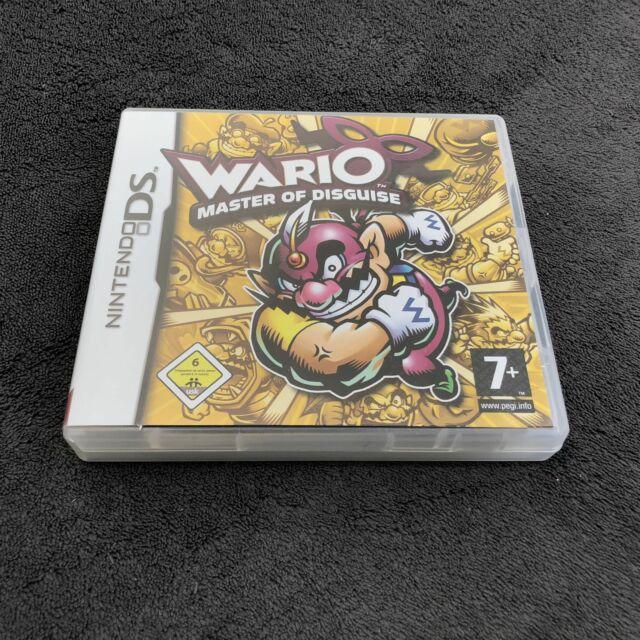 Nintendo DS Wario Master Of Disguise FHG Quasi neuf