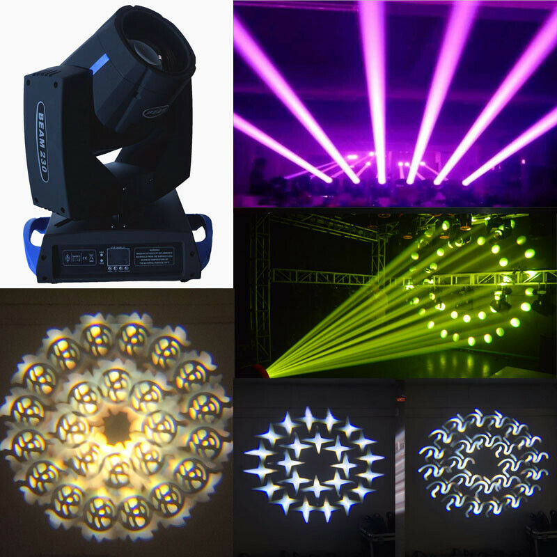 Bühnenbeleuchtung 7R sharpy 230W Moving Head Beam Light 16 8 prism DJ Party disco