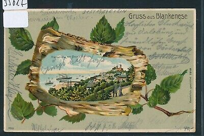 Willensstark 35017) Ak Hamburg Gruss A. Blankenese 1905 + Bahnpost Hambur - Blankenese Klar Und Unverwechselbar
