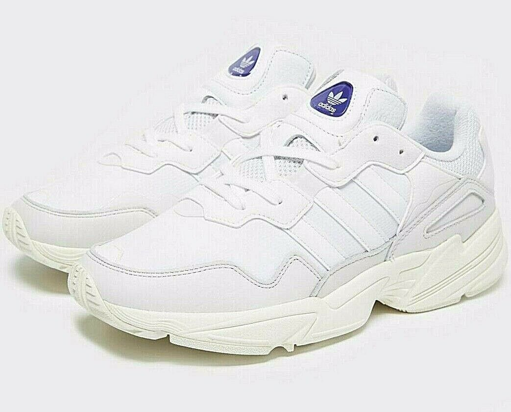 2019 Genuine Adidas Originals Yung 96 ® ( Men Größes UK  9 & 11 ) Triple Weiß