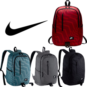 nike all access soleday backpack brand new bag x school sports ... ea788421fc
