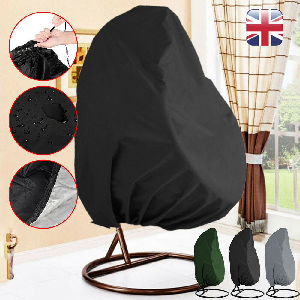 Groovy Details About Hanging Egg Swing Chair Cover Garden Patio Outdoor Rain Anti Uv Waterproof Us Pdpeps Interior Chair Design Pdpepsorg