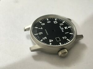 FORTIS-FLIEGER-Gents-Watch-Case-Set-S-Steel-Black-Dial-Date-Auto-Rotor-D-14