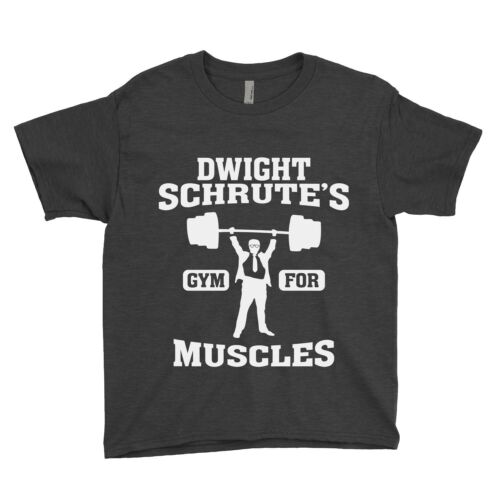 Dwight Schrute/'s Gym For Muscles The Office Unisex Youth Shirt
