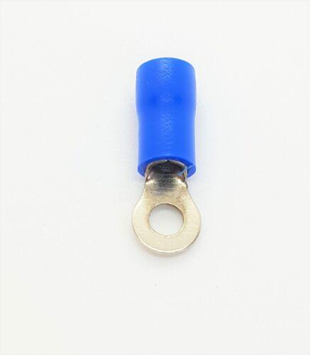50x Cosses ringösen Câble Chaussures Rouge Bleu m3 m4 0,5-2,5mm²