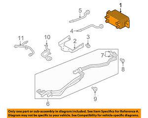 LAND ROVER OEM 10-16 LR4-Automatic Transmission Oil Cooler LR013722 | eBayeBay