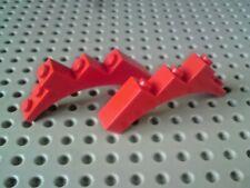 P//N 2339 NEW 2x Lego Arch 1x5x4 Flat Ridge Reddish Brown BB1F
