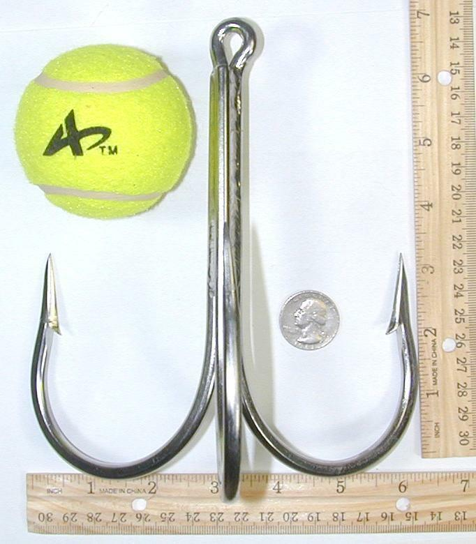 20 0 Treble Hook Stainless  Steel welded hook Gaff for Really big fish   online sale
