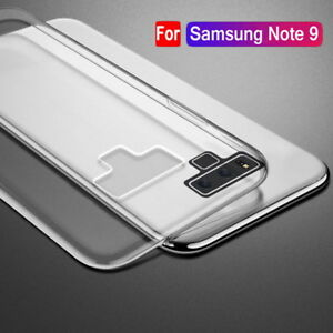 For-Samsung-Galaxy-Note9-Note-8-S9-S8-Clear-TPU-Case-Silicone-Shockproof-Cover