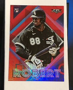 2020-Topps-Fire-Luis-Robert-White-Sox-Red-Foil-Parallel-Rookie-155-RC-MINT