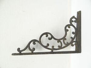 Image Is Loading Antique Old Cast Iron Metal Decorative Plant Hanger