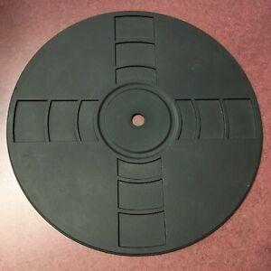 Turntable-Parts-Rubber-Mat-11-3-8-034-Diameter-7-3-8-Ounces