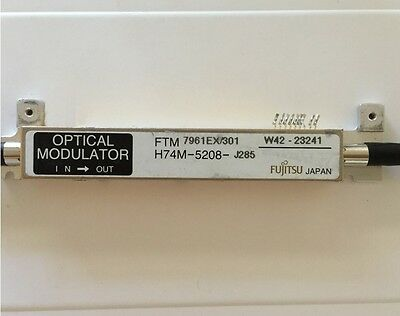 Note: TESTED with WARRANTY Scientific Atlanta Gigabit QAM modulator D9479-1