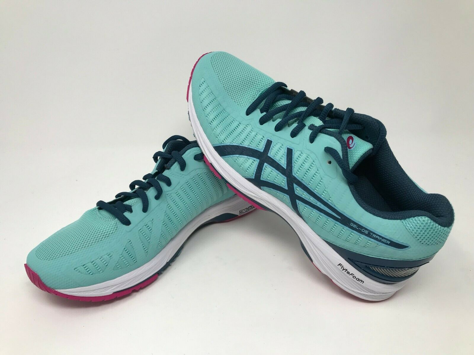 Women's Asics GEL DS Trainer 23 (aura bluee ink bluee fuchsia) T868N-8845