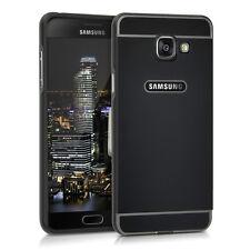 kwmobile Aluminium Bumper für Samsung Galaxy A5 (2016) Schwarz Metall Case Alu