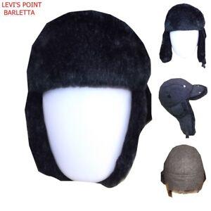 Caricamento dell immagine in corso Levis-Cappello-cacciatore-berretto- pelliccia-para-copri-orecchie- 09db5227a904