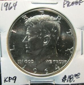 1964-KENNEDY-PROOF-HALF-DOLLAR-WITH-FREE-SHIPPING