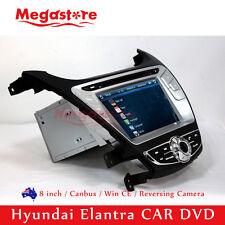 "8"" Car DVD GPS Navigation Touch Screen Stereo For Hyundai Elantra 2014-2016"