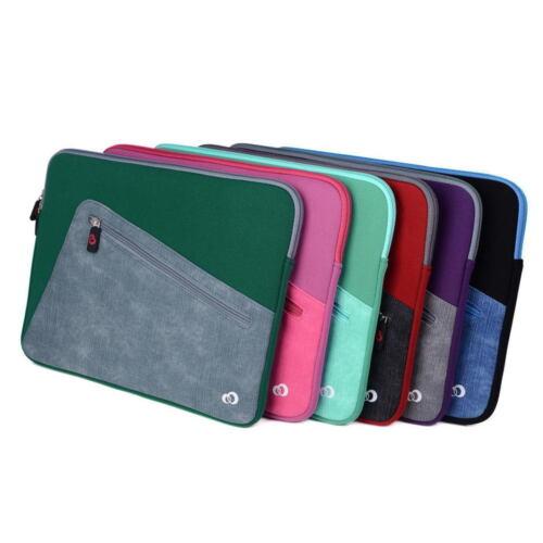 Neoprene Sleeve Cover Case w//Front Pocket fits LG Gram 14 Inch Ultra-Slim Laptop