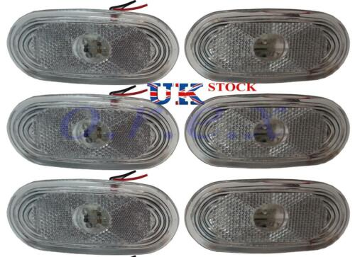 VW CRAFTER 4 LEDs 6x White Side Marker Lights LED Lamps for MERCEDES SPRINTER