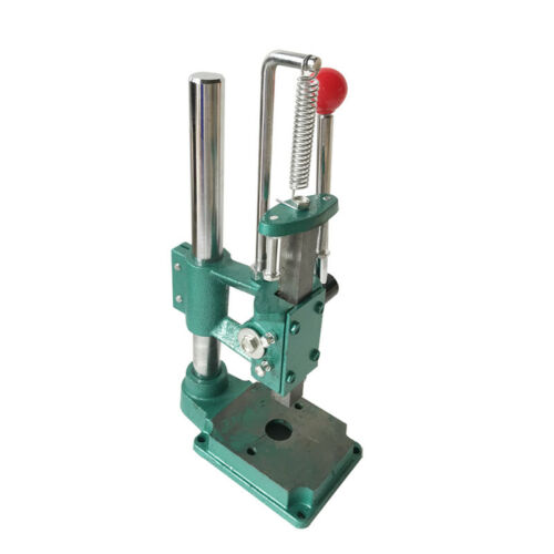 Grommet Square Head Hand Press Punching Machine Puncher For Studs Eyelets