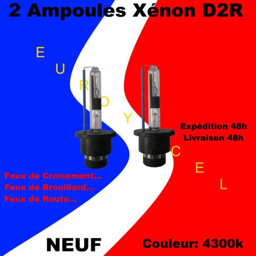 2 Ampoules Blanc Xenon D2R 35W 4300k NEUF BMW X5 X3 520 523 528 530 535 540