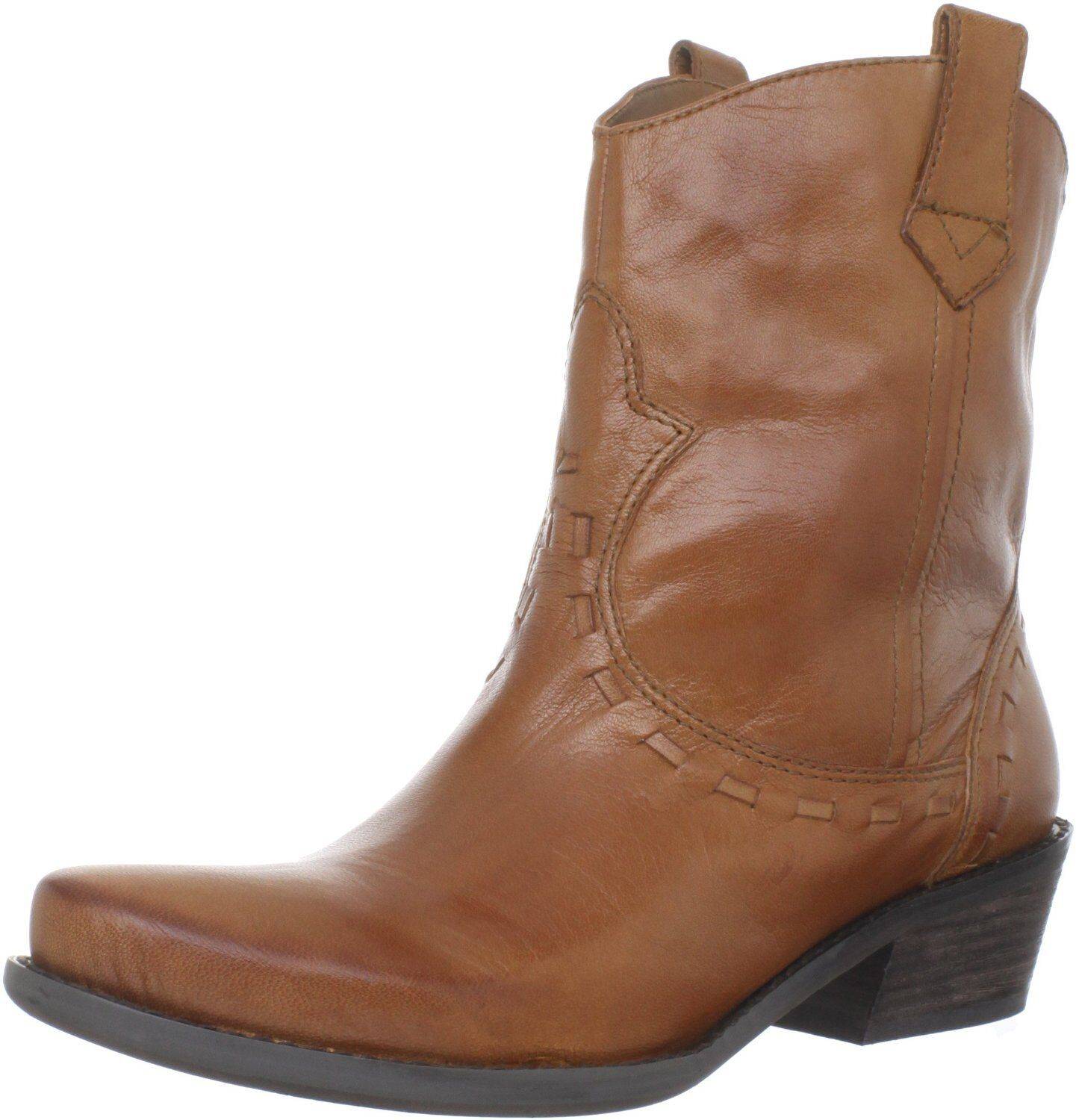NEW FRANCO SARTO Window 2 Cuoio Leather Rider ANKLE Western BOOTS Womens 6 NIB