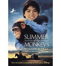 Summer of the Monkeys by Wilson Rawls (1998, Paperback)