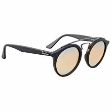 Ray-Ban RB4256 Gatsby I Men's Gradient Sunglasses with Black Frame and Silver Flash Lens