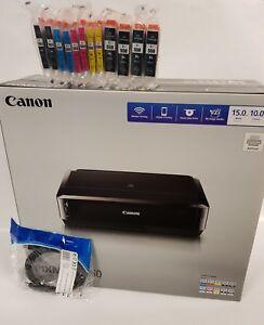Neu-CANON-PIXMA-IP7250-IP-7250-WLAN-DUPLEX-CD-DVD-Drucker-inkl-12-XL-Tinten