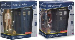 Doctor Who 2ND Doctor and Tardis From The War Games & 5th from The Visitation