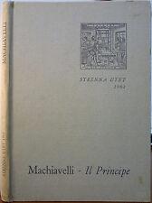 Luigi Firpo (a cura di), Niccolò Machiavelli. Il Principe, Ed. UTET, 1961