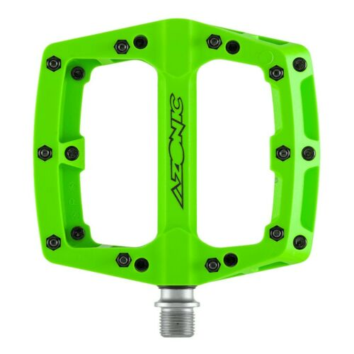 Azonic Blaze 2020 pedali flat ultra leggeri anodizzati bicicletta downhill mtb