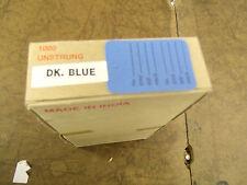 Bulk Lot Box Of 1000 Unstrung Price Tags Hang Tags Dk Blue 1 14x1 78
