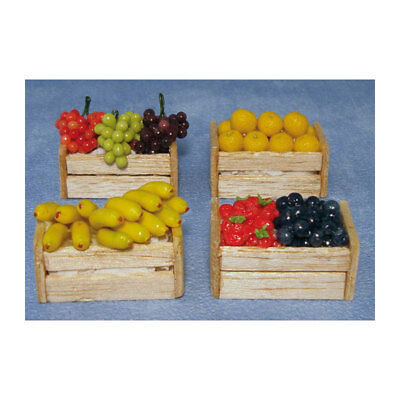 # Sa Doll's House D1018 Miniature Fruit Box Filled Scale 1:12 Dollhouse New