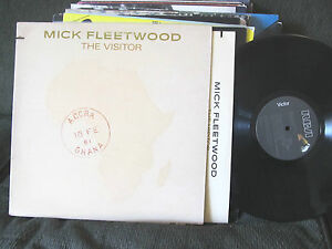 MICK-FLEETWOOD-MAC-THE-VISITOR-1981-ORIG-VINYL-SOLO-LP-W-GEORGE-HARRISON