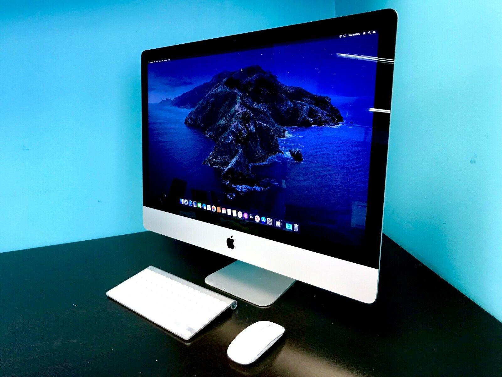 Apple iMac 27 Slim / CORE i7 3.9GHz / 3TB SSD / 32GB RAM / OS-2020 / WARRANTY. Buy it now for 1279.00