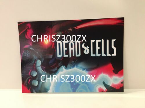 Dead Cells Signature Edition Collector/'s Switch PS4 Art Post Trading Card ONLY
