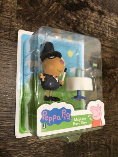 Pedro Pony Suzy Zebra Zoe Zebra George *Choose* Figures Grandpa Peppa Pig Set