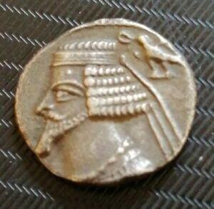 Monnaie-Drachme-argent-silver-PARTHIE-ROYAUME-PARTHE-PHRAATES-IV