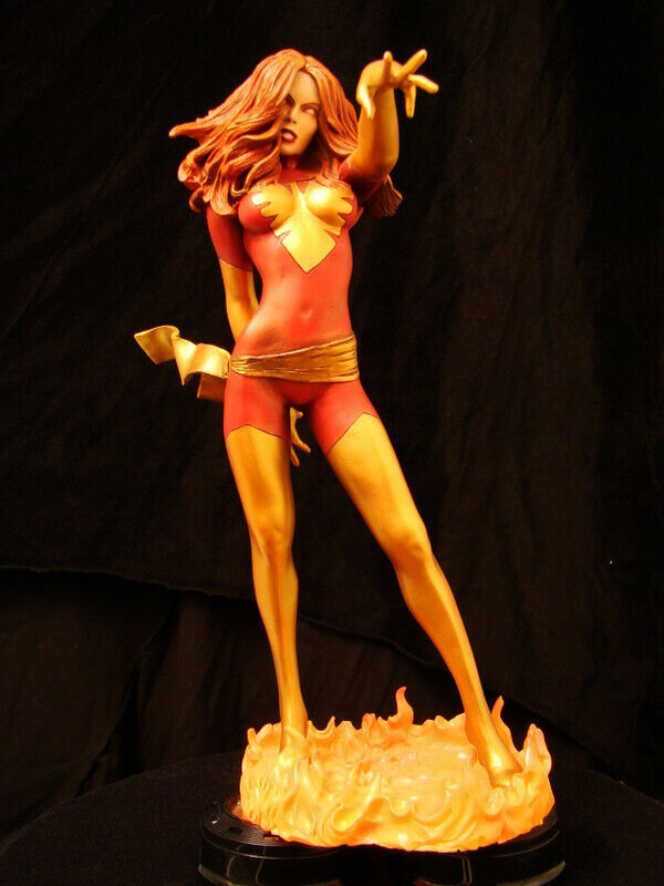 están haciendo actividades de descuento Statue Resin Model Kit  jean gris Dark Phoenix     endsong   protección post-venta