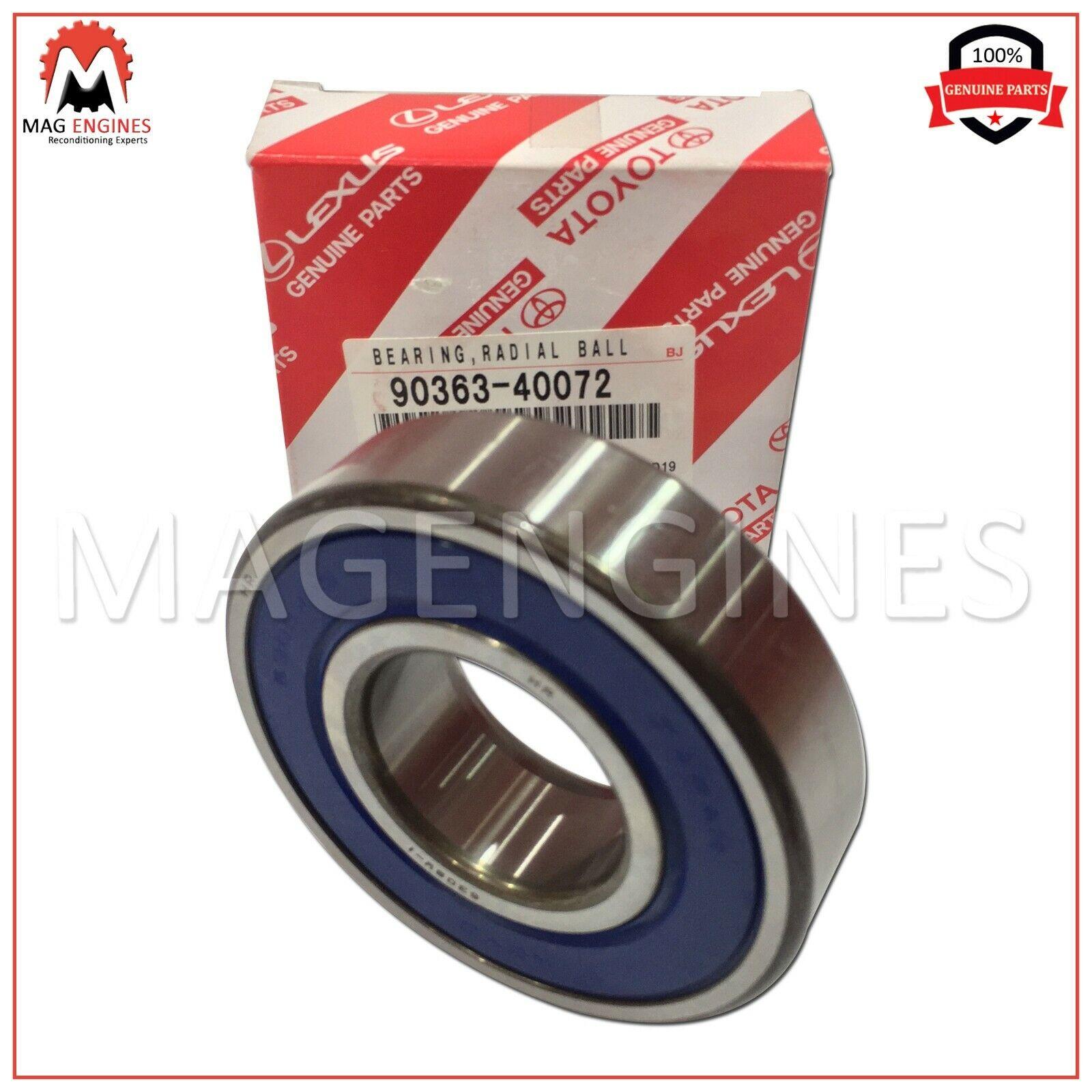 RH//LH 90363-40072 FOR REAR AXLE SHAFT 9036340072 Genuine Toyota BEARING