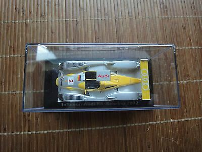Intelligente Audi-model Minichamps Sebring, 2002, 1:43, Giallo, Start-n. 2-