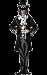 Verrückter Hutmacher Kostüm für Herren Dark Mad Hatter