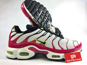huge selection of a7670 9d45b Details about New NIKE AIR MAX PLUS TN CJ9929-100 White/Black/Rush Pink |  Metallic Mix c1