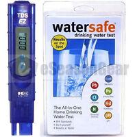 Tds-ez + Ws-425b City, Hm Digital Ppm Tester + Watersafe Drinking Water Test Kit