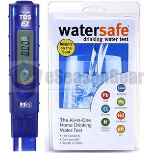 Tds Ez Ws 425b City Hm Digital Ppm Tester Watersafe Drinking Water Test Kit Ebay