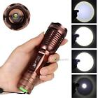 3000LM CREE XML-T6 LED Flashlight Zoomable Torch 18650/AAA 5-mode BA###