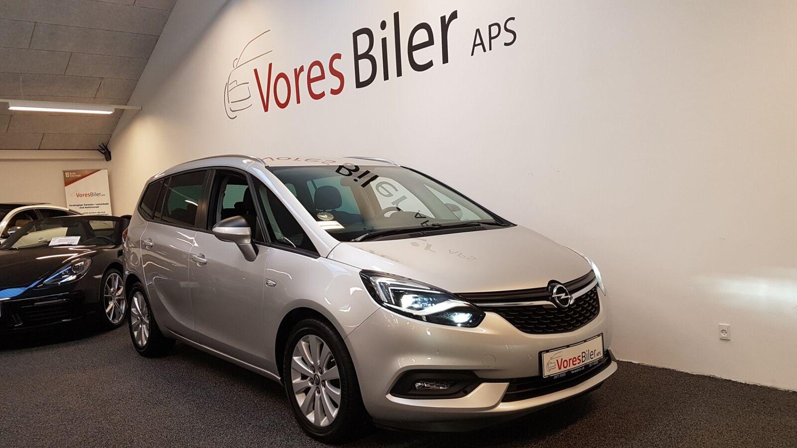 Opel Zafira Tourer 2,0 CDTi 130 Enjoy aut. 5d - 219.900 kr.